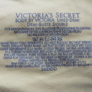 Victoria's Secret Intimates & Sleepwear - Victoria's Secret bra 36DDD Body By Victoria Lined